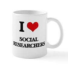 I love Social Researchers Mugs