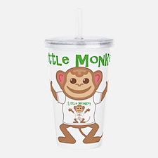 Little Monkey Boy Acrylic Double-wall Tumbler