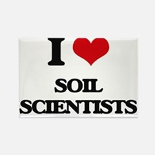 I love Soil Scientists Magnets