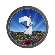 August Birthday Angel : Wall Clock