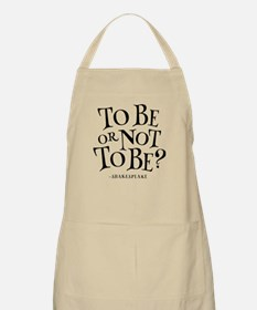 To Be Or Not To Be Shakespeare Apron