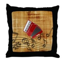 Cute Accordion Throw Pillow