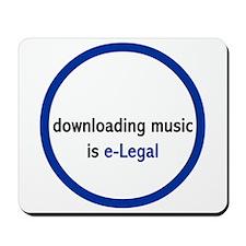 e-Legal Mousepad