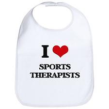 I love Sports Therapists Bib