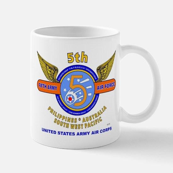 5TH ARMY AIR FORCE WORLD WAR II Mug