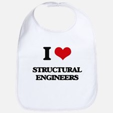 I love Structural Engineers Bib