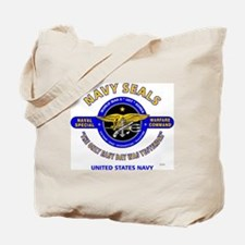 NAVY SEALS THE ONLY EASY DAY WAS YESTERDA Tote Bag