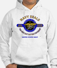 NAVY SEALS THE ONLY EASY DAY WAS Hoodie