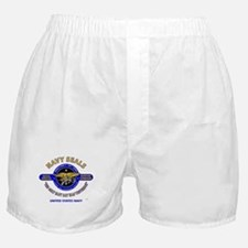 NAVY SEALS THE ONLY EASY DAY WAS YEST Boxer Shorts