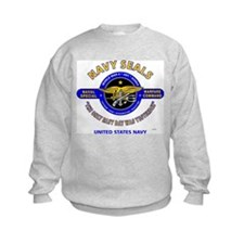 NAVY SEALS THE ONLY EASY DAY WAS Y Sweatshirt
