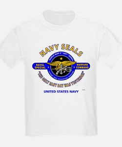 NAVY SEALS THE ONLY EASY DAY WAS YES T-Shirt