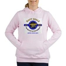 NAVY SEALS THE ONLY EASY Women's Hooded Sweatshirt