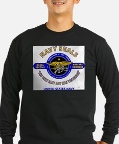 NAVY SEALS THE ONLY EASY DAY W Long Sleeve T-Shirt