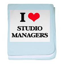 I love Studio Managers baby blanket