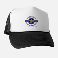 NAVY SEALS THE ONLY EASY DAY WAS YESTE Trucker Hat