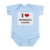 I love swim coach Baby