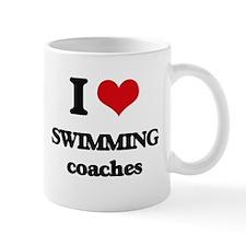 I love Swimming Coaches Mugs