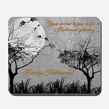 Halloween Postcard Mousepad