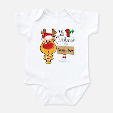 First Christmas Reindeer Onesie