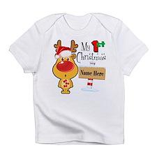 First Christmas Reindeer Infant T-Shirt