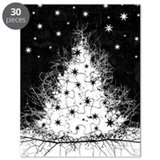 Gothic Branches Christmas Tree Puzzle
