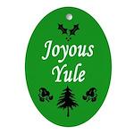 Joyous Yule (Yuletide Pine Tree Ornament)