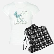 60th Birthday Butterfly Pajamas
