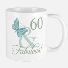 60th Birthday Butterfly Mug