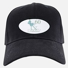 60th Birthday Butterfly Baseball Hat
