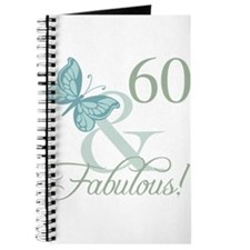 60th Birthday Butterfly Journal