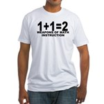 FUNNY SEXY MATH T-SHIRT GIFT  Fitted T-Shirt