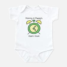 Mommy & Daddy's Alarm Clock Infant Bodysuit
