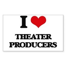 I love Theater Producers Decal
