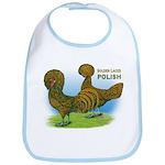 Golden Polish Fowl Bib