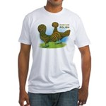 Golden Polish Fowl Fitted T-Shirt