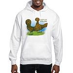Golden Polish Fowl Hooded Sweatshirt