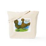 Golden Polish Fowl Tote Bag