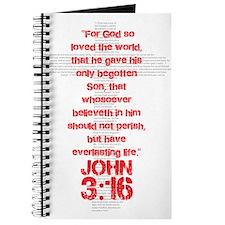 John 3:16 Cross Journal