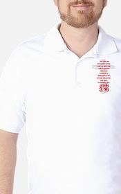 John 3:16 Cross T-Shirt