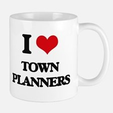 I love Town Planners Mugs