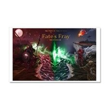 Fate's Fray Car Magnet 20 x 12