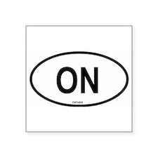 "Cute Ontario Square Sticker 3"" x 3"""