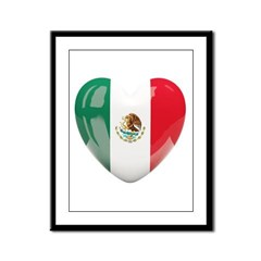 My Mexican Heart Framed Panel Print