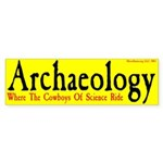 Archaeology Where the Cowboys... -BMPyel