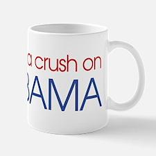 I got a crush on obama (simpl Mug