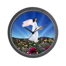 November Birthday Angel : Wall Clock