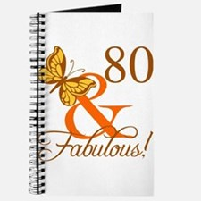 80th Birthday Butterfly Journal