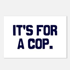 For A Cop Postcards (Package of 8)
