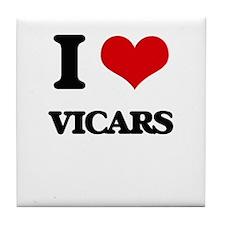I love Vicars Tile Coaster