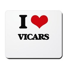 I love Vicars Mousepad